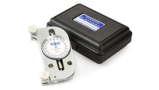 bandsaw blade tension gauge